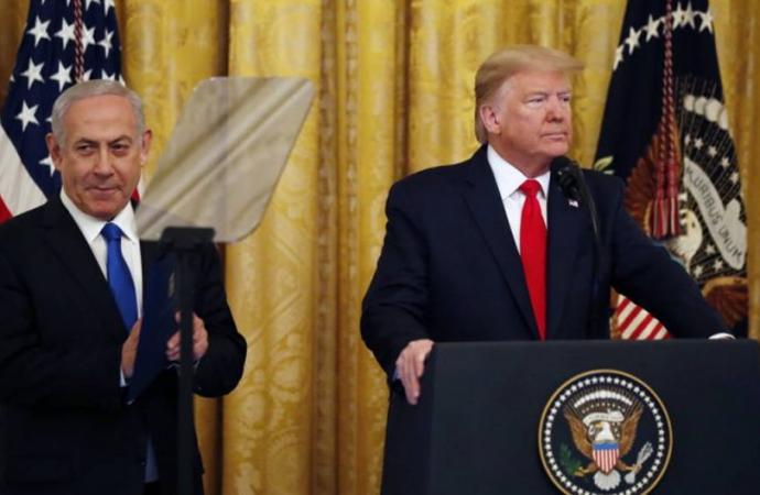 Trump revela el plan de paz para Medio Oriente con Netanyahu a su lado