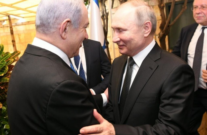 Netanyahu agradece a Putin por perdonar a Naama Isacar