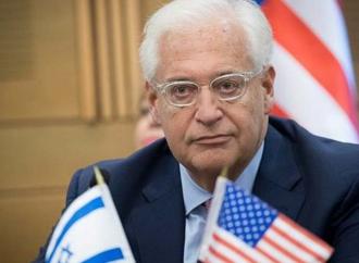 """<strong>David Friedman.</strong> Un """"Estado palestino"""" no sucederá en un futuro cercano"""