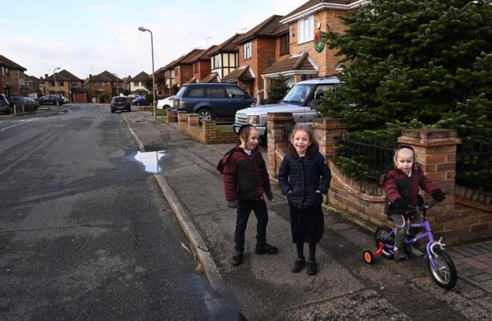 Cerca de Londres, una creciente comunidad ortodoxa cobra vida