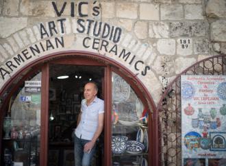 Turquía trabaja para hacerse cargo del barrio armenio en la ciudad vieja de Jerusalem