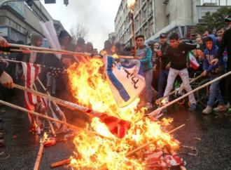 <strong>Primera vez en la historia árabe.</strong> Bahrein: Hombre que quemó la bandera israelí recibe sentencia de tres años de prisión