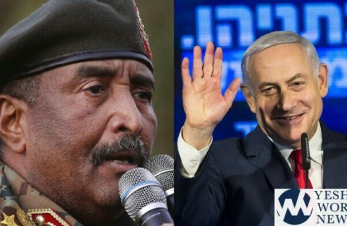 Netanyahu se reúne con el líder de Sudán y comienza la normalización