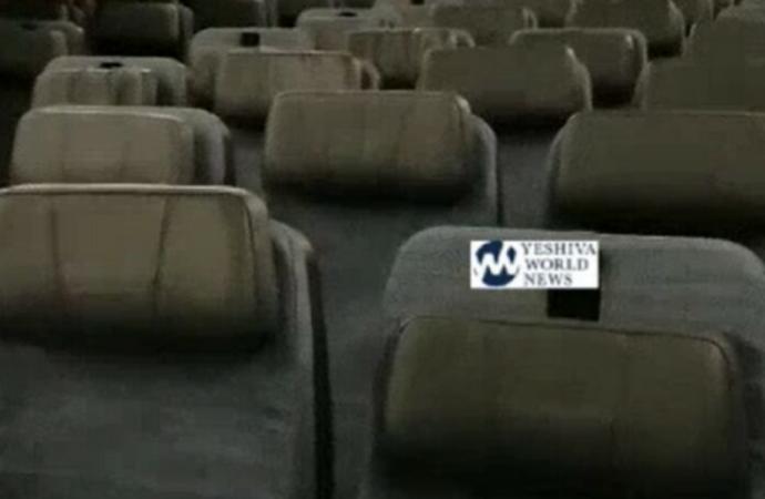 Un judío es la única persona en vuelo a Hong Kong