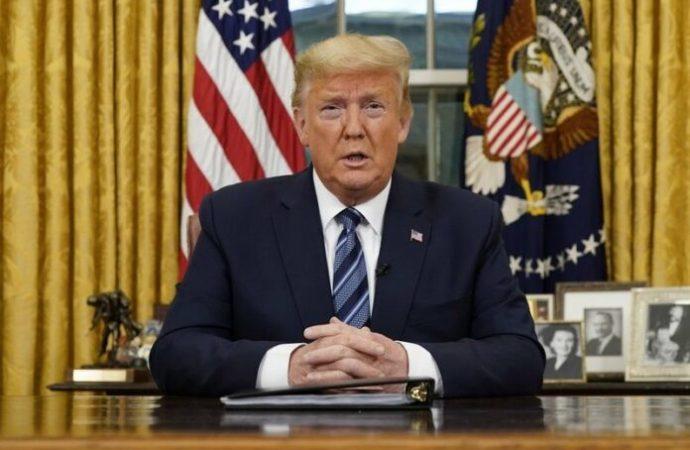 Trump cancela todos los viajes de EE. UU. desde Europa excepto el Reino Unido