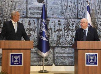 El presidente le encomienda a Gantz la formación del gobierno de Israel
