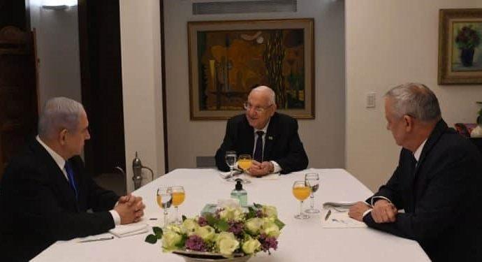 Netanyahu dice que se llegó a un acuerdo de unidad con Kajol-Lavan
