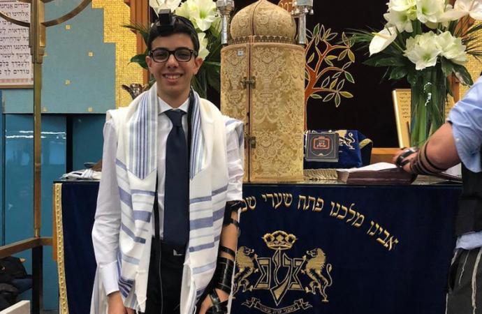 Un musulmán sirio donó un árbol en Israel para un niño italiano cuya fiesta de Bar Mitzvah fue cancelada debido al coronavirus
