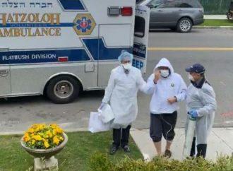 Videos emocionales: Activista sefardí de la comunidad en Flatbush y miembro de Hatzalah en Chicago regresan a casa tras ser dados de alta del hospital