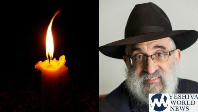 "Petirá de HaRav Don Yoel Levy ZT""L, Jefe de la Agencia OK Kashrus"
