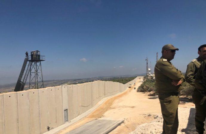 Valla de seguridad con El Líbano fue dañada en tres lugares
