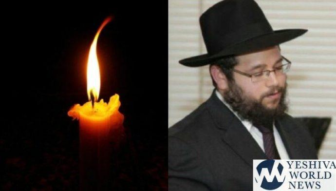 Shalíaj de Jabad Rav Binyamin Wolff, 43, muere por COVID-19, deja 8 huérfanos