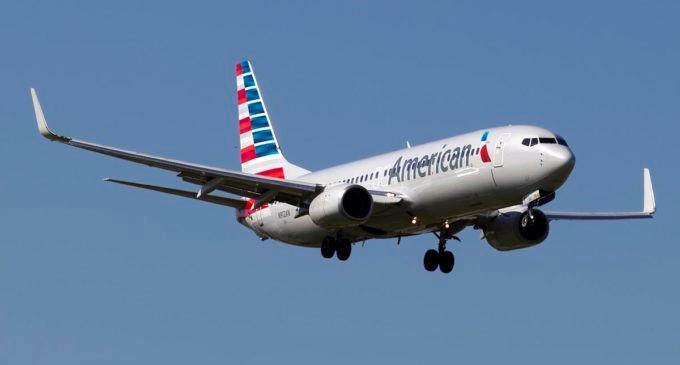 Vea el video tomado en este vuelo de American Airlines