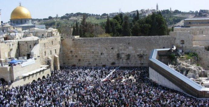 El 45% de los judíos viven en Israel: 6.8 millones de la población actual de Israel de 9.2 millones