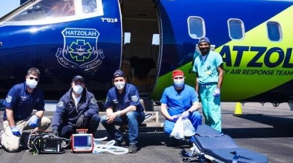 Veterano discapacitado de Vietnam finalmente llega a Florida – Via Hatzolah Air