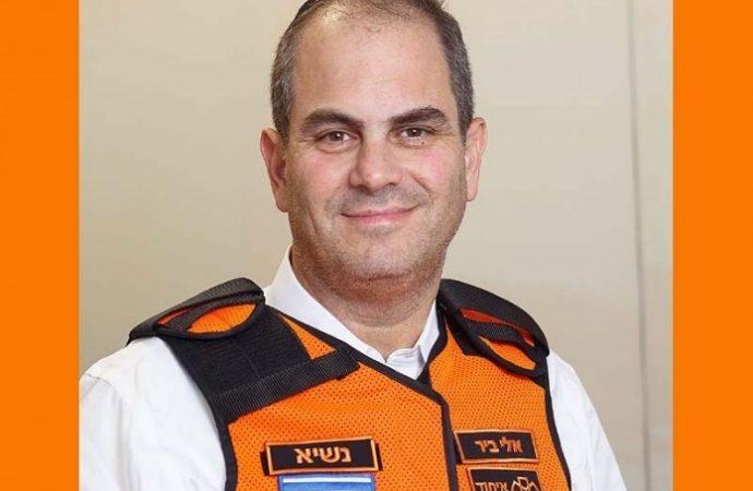 """Eli Beer, fundador de United Hatzalah: """"Me recuperé de Covid-19 gracias a los ángeles"""""""
