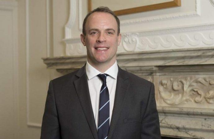 El primer ministro temporal del Reino Unido, Dominic Raab, es medio judío y estudió en la Universidad Birzeit de Ramallah