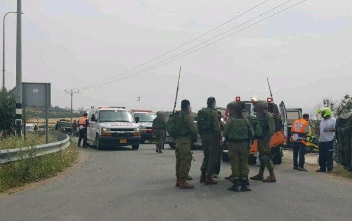 Ataque de embestida cerca de Hevron, soldado de las FDI herido