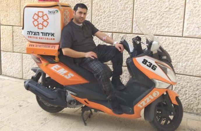 Israel Otmazgin, EMT israelí, dona médula ósea para salvar a un niño árabe estadounidense