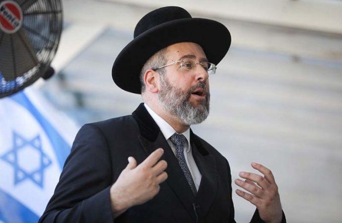 Rabino Jefe a PM: Abra nuestras sinagogas de una vez