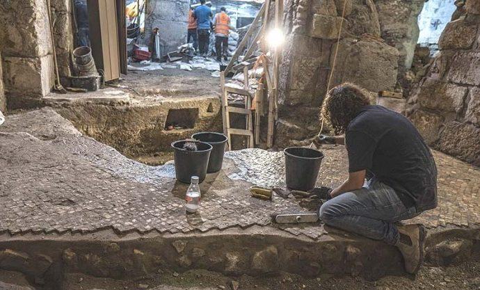 Sistema subterráneo del segundo templo descubierto cerca del Kotel