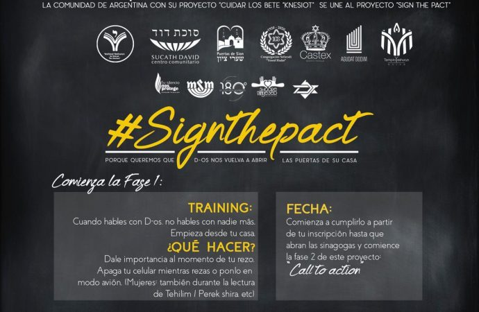 #Sign the pact: Compromiso con el respeto