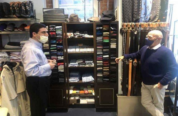 El desafiante dueño de una tienda de Nueva York fue voluntario en la guerra de Yom Kippur