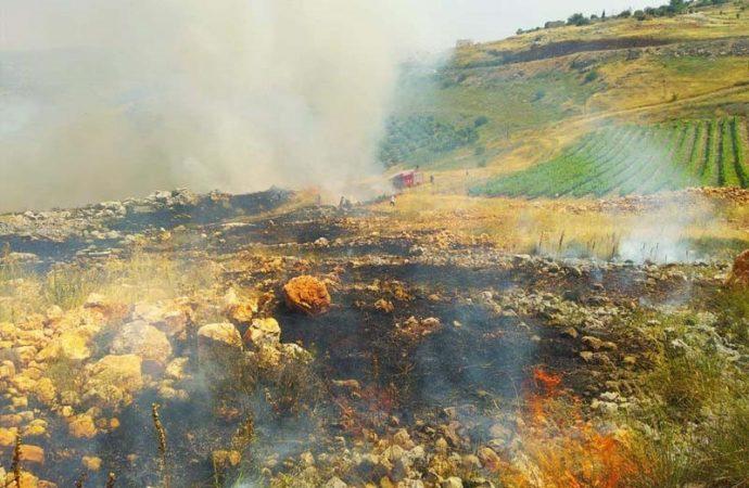Cientos de incendios en Israel