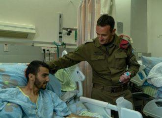 <strong>Atropellado por un árabe.</strong> Soldado de las FDI que perdió pierna en ataque terrorista liberado de la UCI