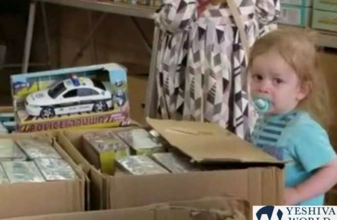Vea lo que dice este niño de Meah Shearim en una juguetería