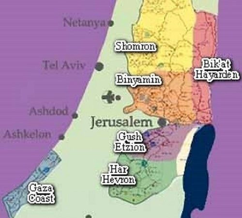 ¿Cuál es la estrategia de Bibi para extender la soberanía en partes de Judea y Samaria?