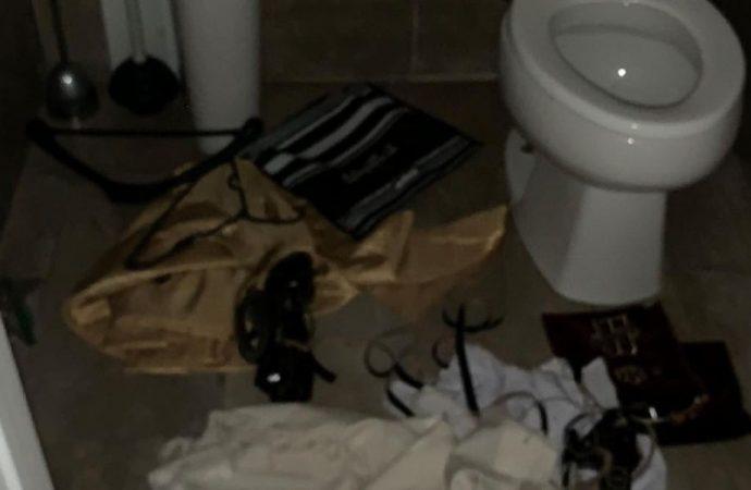 Talitot en inodoros y rollos de Torá cortados en sinagoga de Montreal