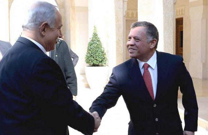 El rey de Jordania rechaza la llamada telefónica de Netanyahu