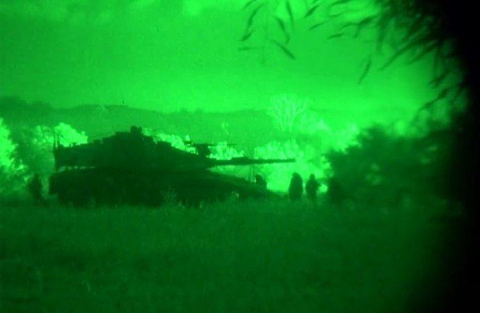 Las FDI disparan contra el objetivo de Gaza tras el ataque con cohetes