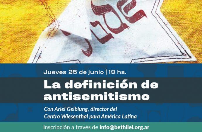 Disertación del Director del Centro Wiesenthal