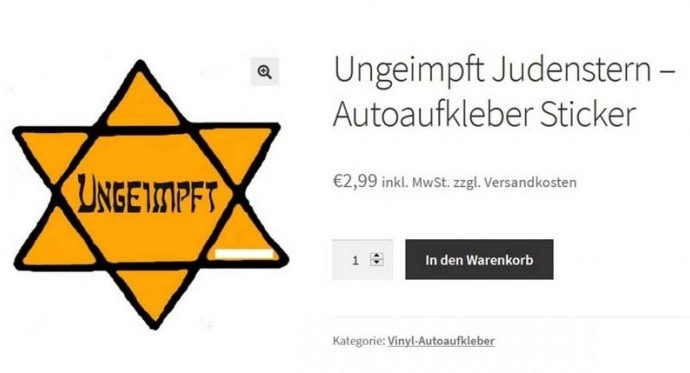 Munich prohíbe el uso del símbolo del Holocausto para protestar contra las reglas del coronavirus