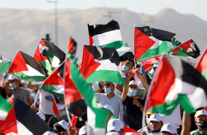 Comunidad internacional se une a protesta palestina contra la anexión