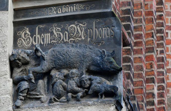 Varias iglesias tienen esculturas antisemitas perversas de la Edad Media