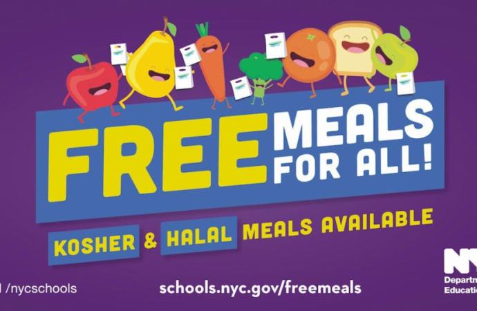 Comida gratis en la ciudad de Nueva York continúa durante el verano