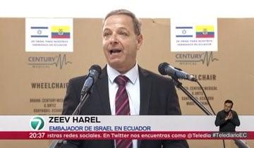 Israel dona sillas de ruedas a Ecuador afectado por coronavirus