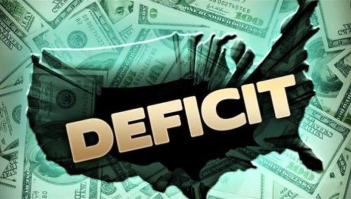 El déficit presupuestario de EE. UU. alcanza el máximo histórico en junio