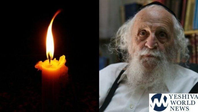 El portador de virus asistió al Shul a pesar del diagnóstico y llevó a la muerte del Rav Shmuel Ashkenazi, Z'tl