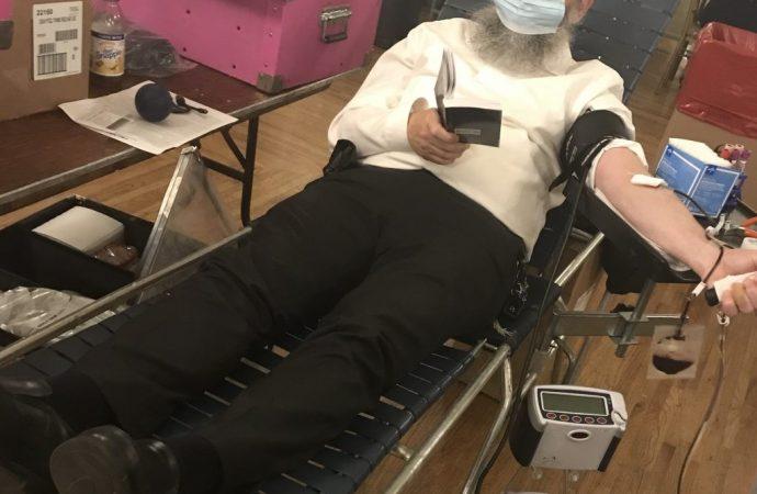 El Centro de Sangre de Nueva York y la comunidad judía se unen para la campaña de plasma