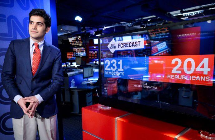 El pronosticador electoral de CNN Harry Enten y por qué dice 'Shalom' en televisión