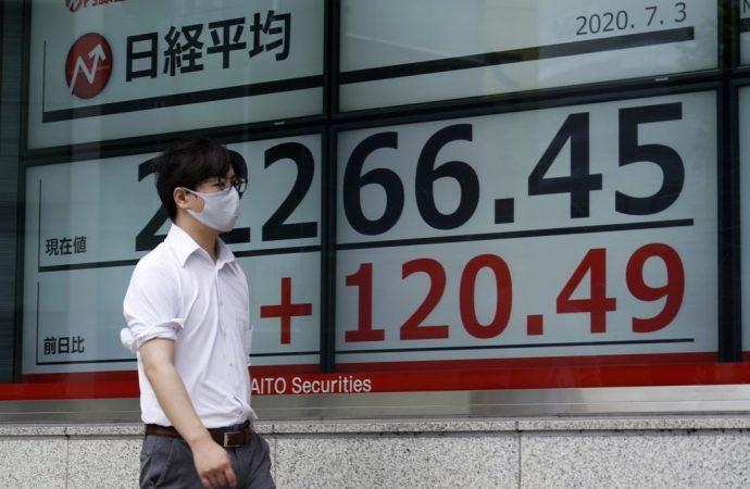 Avance de acciones asiáticas tras informe optimista de empleo en EE. UU.