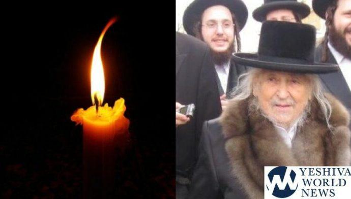 "Falleció el Rebe de Sanzer, HaRav Naftali Halberstam ZT""L"