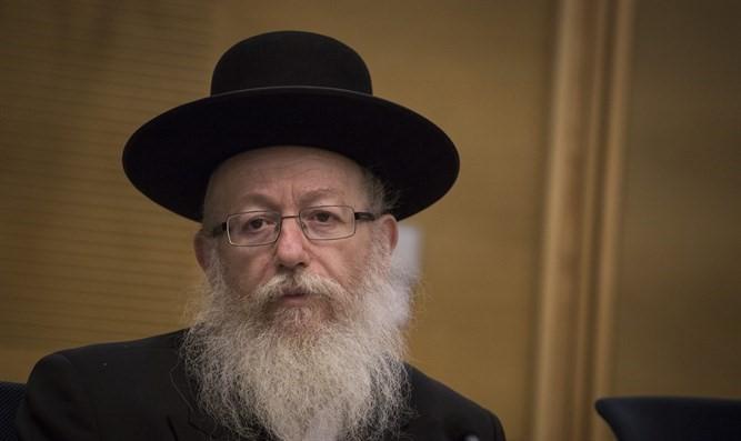 Litzman amenaza con renunciar al gobierno ya que el Tribunal Superior permite a las mujeres tomar las pruebas de Rabanut