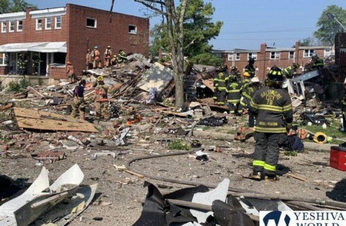 Baltimore: Explosión destruye varios hogares