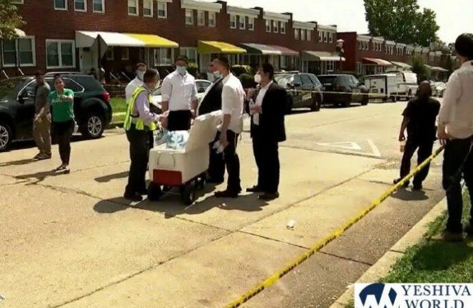 La comunidad judía de Baltimore ayuda a los afectados por la explosión
