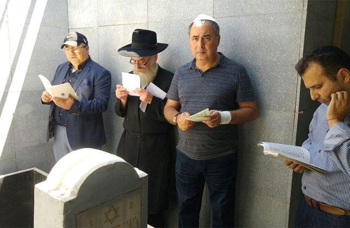 Kazajstán agrega la tumba del líder de Jabad a su lista de sitios del patrimonio nacional
